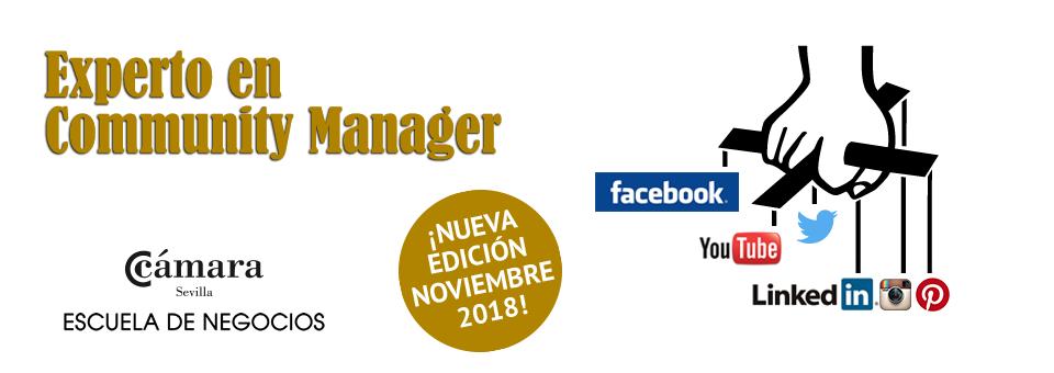 Curso de Experto en Community Manager de Sevilla - Cámara de Comercio
